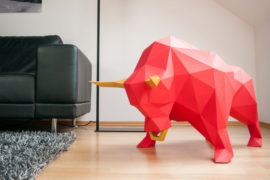 papertrophy Stier